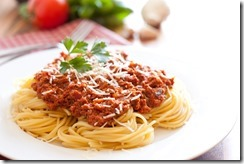 spaghetti with meat sauce11
